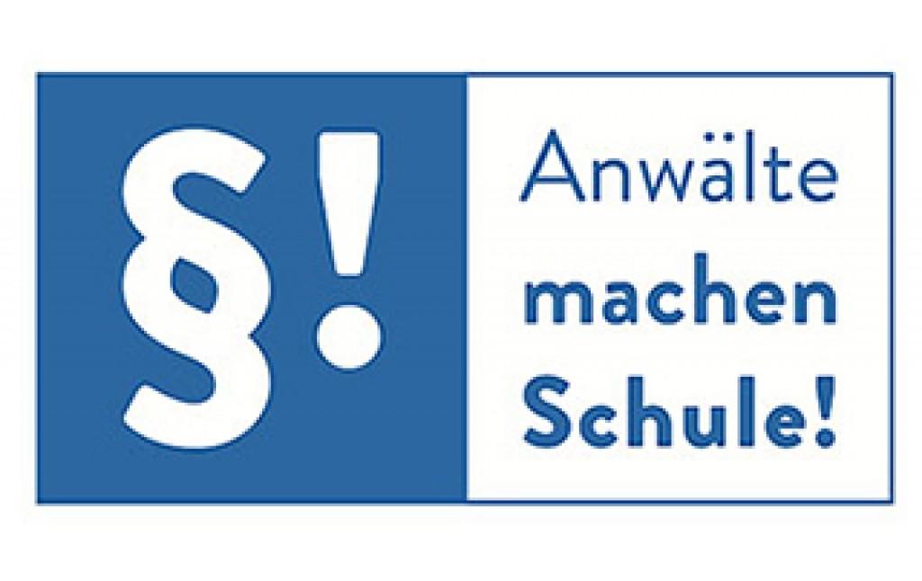 Anwälte machen Schule Logo