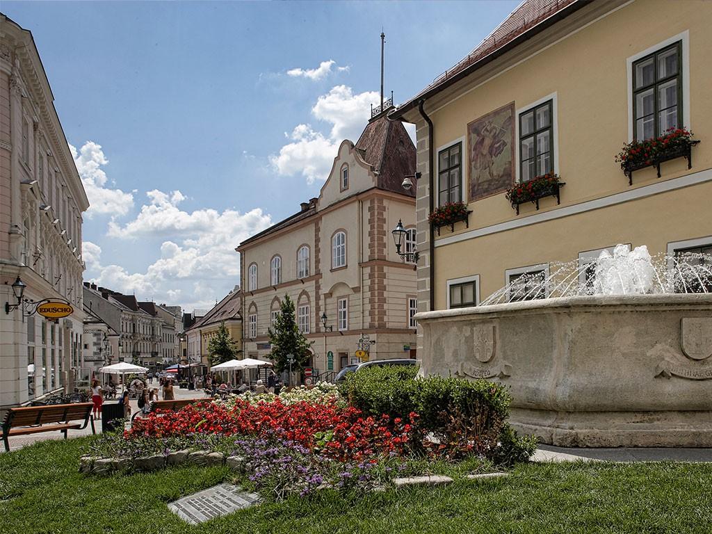 Gebäude des ehemaligen Bezirksgerichtes Mödling